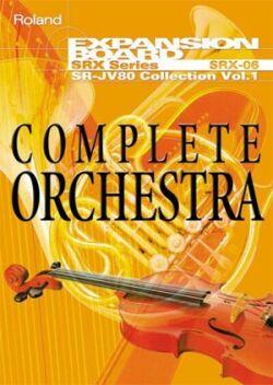 SRX-06 Complete Orchestra - Další orchestrální zvuky na SRX
