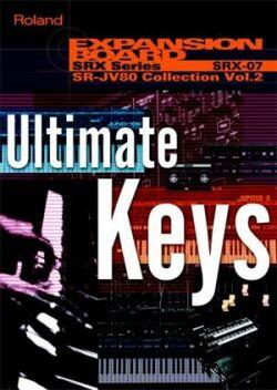 SRX-07 Ultimate Keys - Množství zvuků nástrojů 60.-80. let