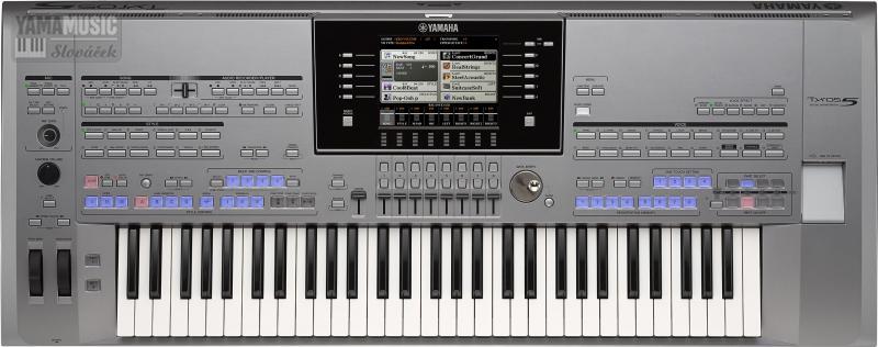 Yamaha TYROS 5-61 - Již pátá řada této legendární série profesionálních keyboardů !!!