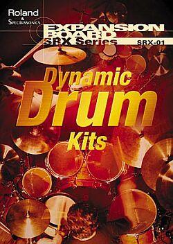 SRX-01 Dynamic Drum Kits - Vynikající zvuky bicích, které by Vám neměly chybět.