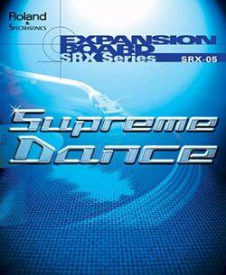 SRX-05 Supreme Dance - Vhodný doplněk pro všechny, kdo chtějí hrát taneční hudbu.