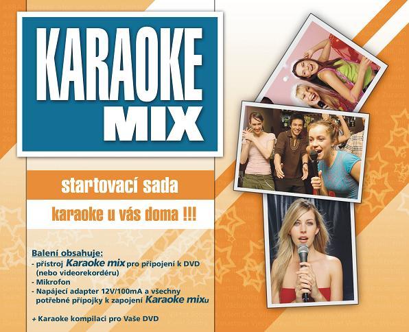 Karaoke MIX - startovací sada - Vše pro začínající mladé zpěváky či jiné pěvecké nadšence, vhodné též jako učební pomůcka.