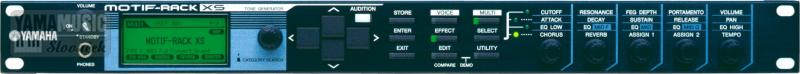 Yamaha MOTIF XS Rack - racková verze syntezátoru Motif XS, 128 hlasů, 355 MB vzorků