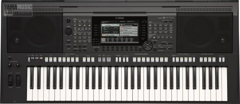 Yamaha PSR-S770 - keyboard s XG normou vč. adaptéru.