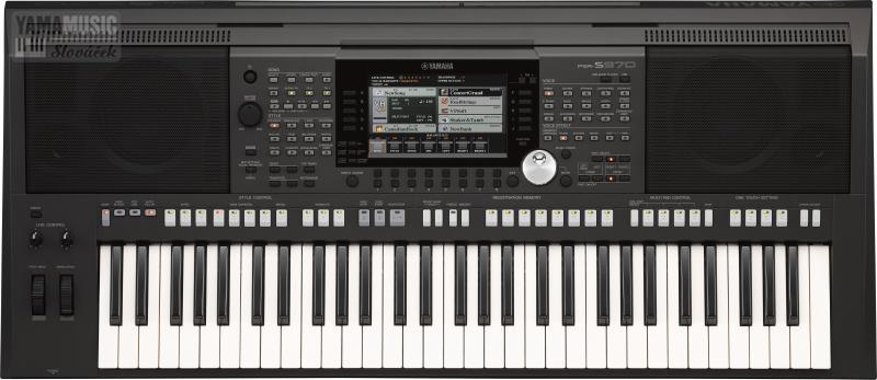 Yamaha PSR-S970 - Workstation s mnoha možnostmi tyrose.