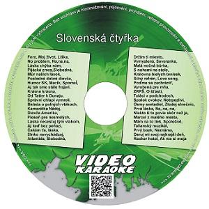 Slovenská čtyřka - Výběr slovenských hitů ze 4 DVD za zvýhodněnou cenu na jednom nosiči.